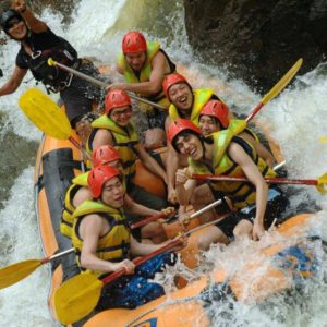 Whitewater Rafting QLD